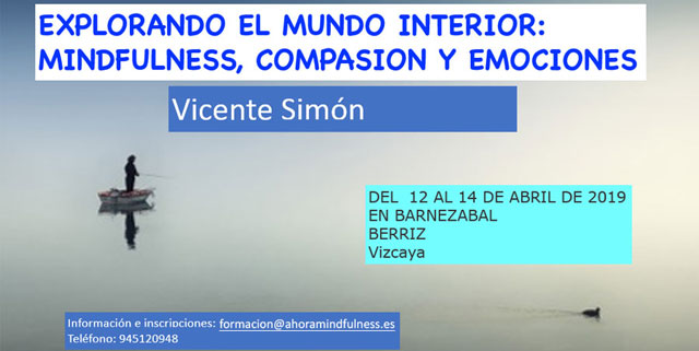 Mindfulness 12 al 14 de Abril